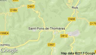Plan de Saint-Pons-de-Thomières