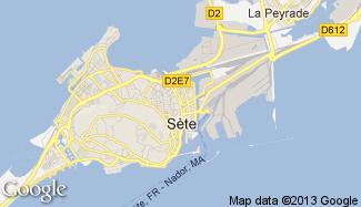 Plan de Sète