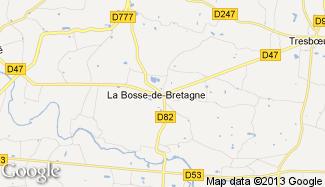 Plan de La Bosse-de-Bretagne