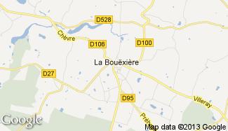 Plan de La Bouëxière