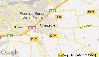 Plan de Chantepie