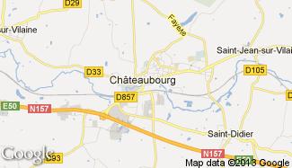 Plan de Châteaubourg