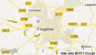 Plan de Fougères