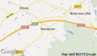 Plan de Mondevert