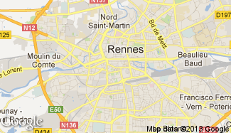 Plan de Rennes