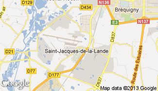 Plan de Saint-Jacques-de-la-Lande
