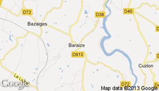 Plan de Baraize