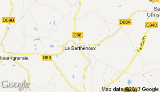 Plan de La Berthenoux