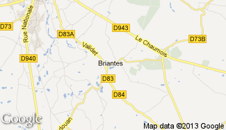 Plan de Briantes