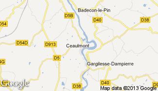 Plan de Ceaulmont