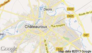 Plan de Châteauroux