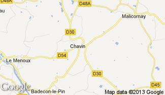 Plan de Chavin