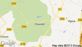 Plan de Chazelet