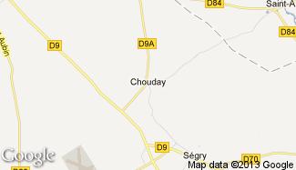 Plan de Chouday