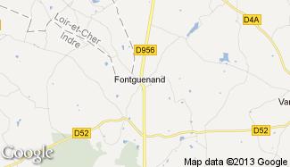 Plan de Fontguenand