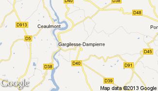Plan de Gargilesse-Dampierre
