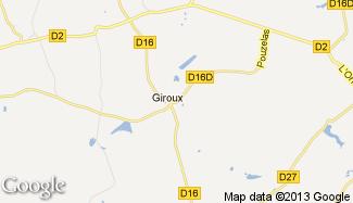 Plan de Giroux