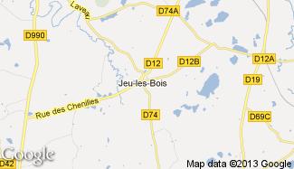 Plan de Jeu-les-Bois