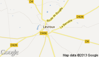 Plan de Levroux