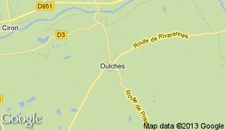 Plan de Oulches