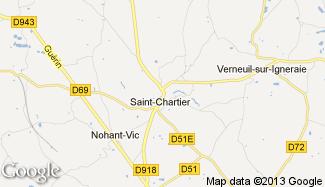Plan de Saint-Chartier