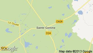 Plan de Sainte-Gemme