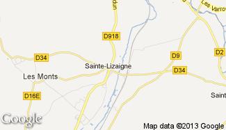 Plan de Sainte-Lizaigne