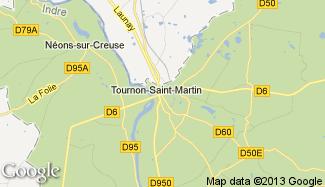 Plan de Tournon-Saint-Martin