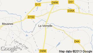 Plan de La Vernelle