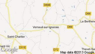 Plan de Verneuil-sur-Igneraie