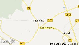 Plan de Villegongis