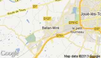 Plan de Ballan-Miré