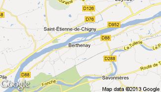 Plan de Berthenay