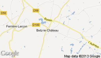 Plan de Betz-le-Château