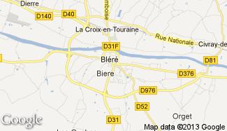 Plan de Bléré