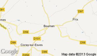 Plan de Bournan