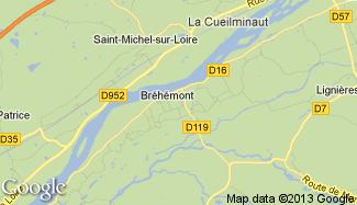 Plan de Bréhémont