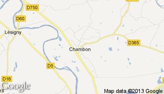 Plan de Chambon