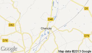 Plan de Chançay