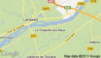 Plan de La Chapelle-aux-Naux