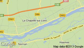 Plan de La Chapelle-sur-Loire