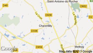 Plan de Charentilly
