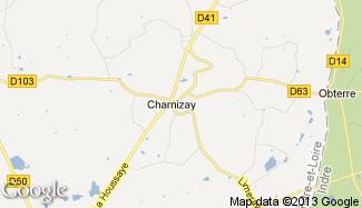 Plan de Charnizay