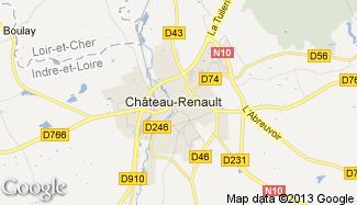 Plan de Château-Renault