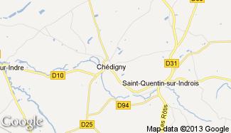 Plan de Chédigny