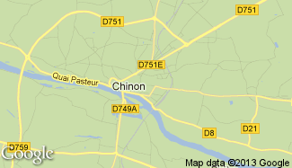 Plan de Chinon