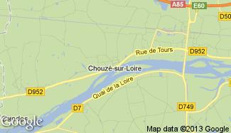 Plan de Chouzé-sur-Loire