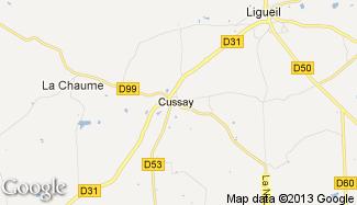 Plan de Cussay