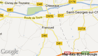 Plan de Francueil