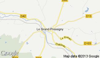 Plan de Le Grand-Pressigny